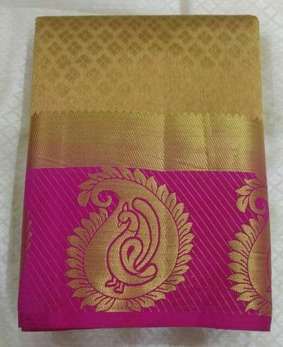 0676dd2c33 Tussar Silk Saree Contrast Blouse at Rs 700 /piece | Tussar Silk ...