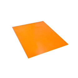 Orange Polyurethane Sheets, Thickness: 2 - 5 Mm