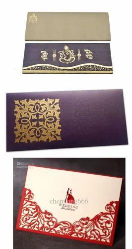 Wedding Card Envelope At Rs 5 Piece व ड ग क र ड