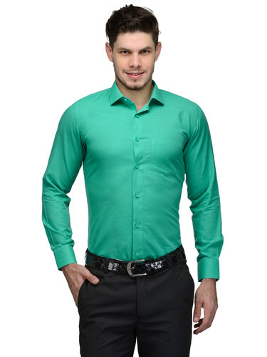 f8c35335d63 Mens Green Formal Shirt at Rs 525  piece(s)