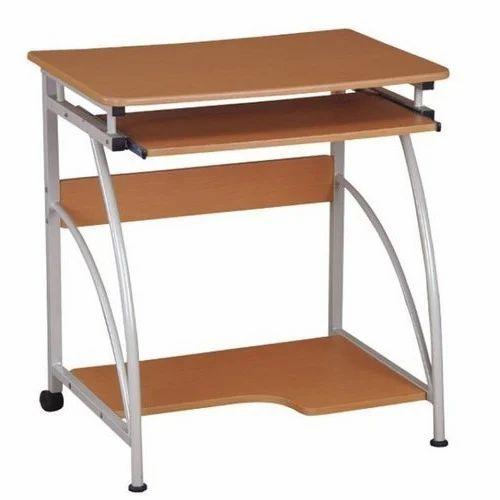 Simple Wooden Computer Desk