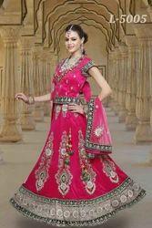 Pink Designer Wedding Lehenga