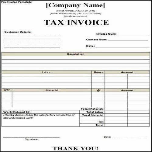 tax invoice printing services in kasturba nagar bengaluru id