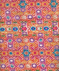 Bright Color Prints Fabric, Use: Dress
