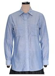 Ayaka Chambray Ladies Shirt EGT053A