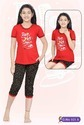 Girls Cotton Capri Set