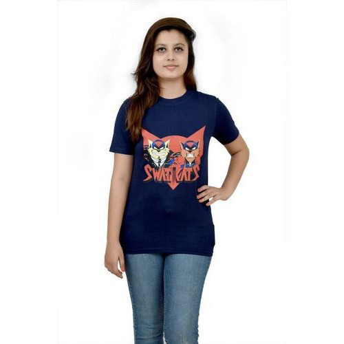 03c40f1b Women Printed T Shirt at Rs 449 /piece | Ladies Printed T Shirt | ID ...