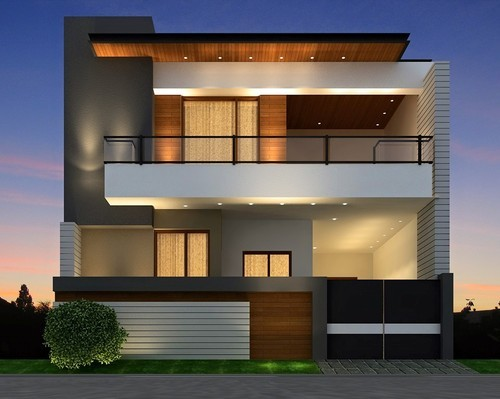 Architecture Design Front Elevation : Bhk double story new kothi in jalandhar bank colony by