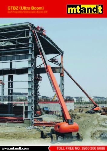 Self Propelled Telescopic And Articulated Boom Lifts