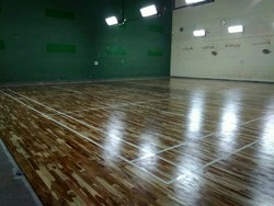 Wooden Badminton Court Flooring
