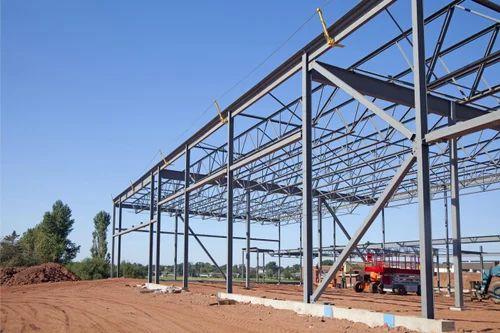 Mild Steel Pre Fabricated Steel Frame Building