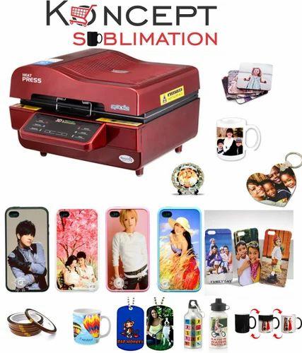 Manufacturer of Heat Press Machines & 3D Sublimation Machine