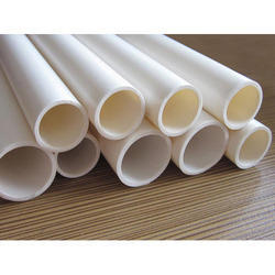 White PVC Electrical Conduit Pipe