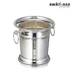Steel Premium Finish Ice Bucket