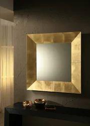 Riflessi Gold Color Royal Italian Mirror, Size: 155 cm (W) x 85 cm H