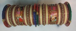 Party Wooden Rajasthani Bangle