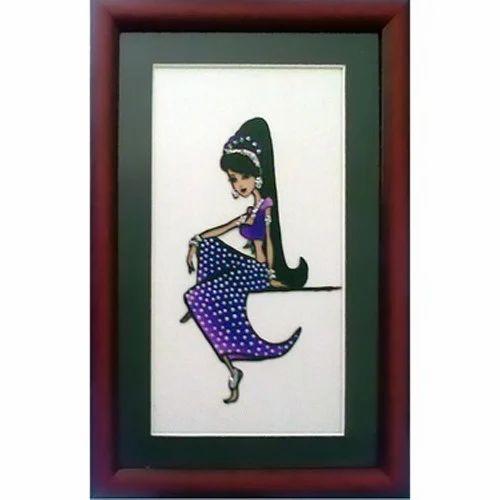 Frame Glass Painting, Kaanch Ki Chitrakariyan, ग्लास ...