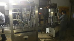 Automatic Edible Oil Filling Machine