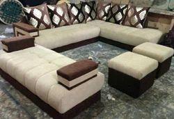 Room Setting Wooden Sofa at Rs 40000 /set | लकड़ी के सोफे ...