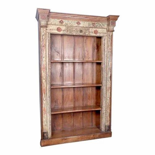 antique book shelf book shelves green earth export jodhpur id rh indiamart com antique bookshelves cost antique wood bookshelves