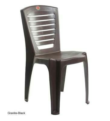 Delicieux Brown Standard Cello Plastic Fevina Chairs, For Indoor