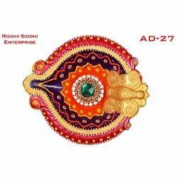 Colourful Akhand Diya