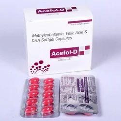 Methylcobalamin,Folic Acid & DHA Capsules