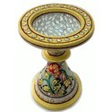 Golden Marble Candle Stand Mb029