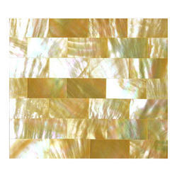 Golden Mother Of Pearl Tile