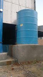 FRP Vertical Storage Tank