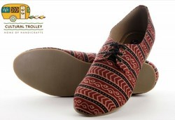 Hand Block Printed Shoes