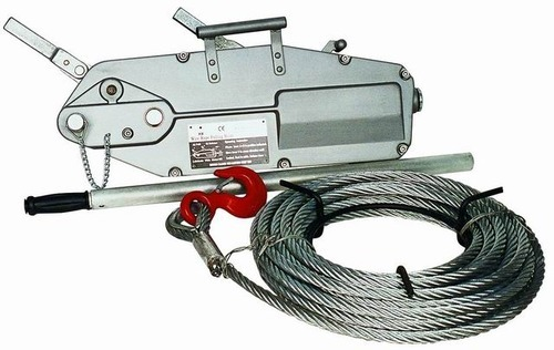 Wire Rope Pulling Machine - View Specifications & Details of Wire ...