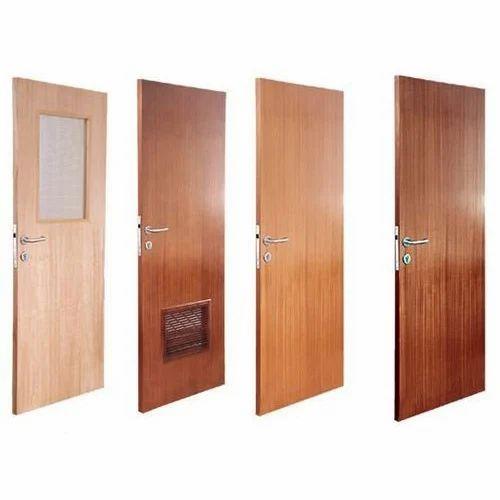 Interior Flush Door Sizedimension 2250x980mm Rs 70 Square Feet