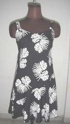 Printed Evening Dress