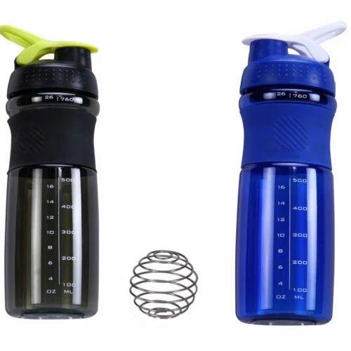 Blue Heavy Blender Bottles, Capacity: 500ml, Packaging Type: Carton Package