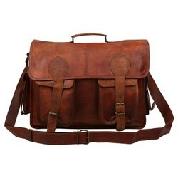 Genuine Leather Mac Book Messenger Bag 124
