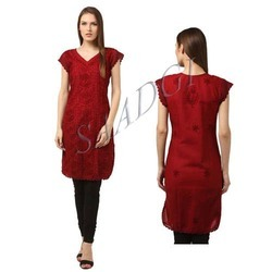 Ladies Red Kurti