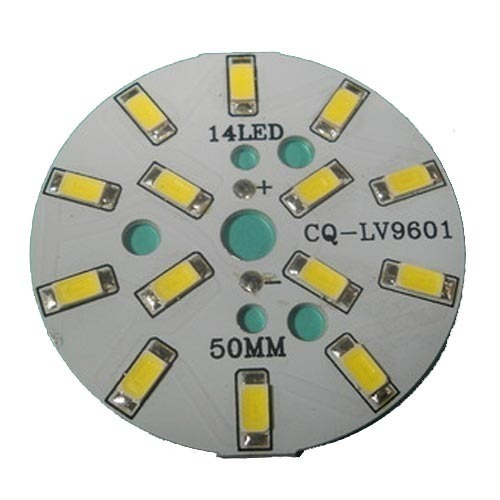 Smd Led Pcb Board Cq Lv9601 Shape Round Rs 8 Piece