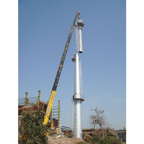Supervac Industrial Stainless Steel Chimney