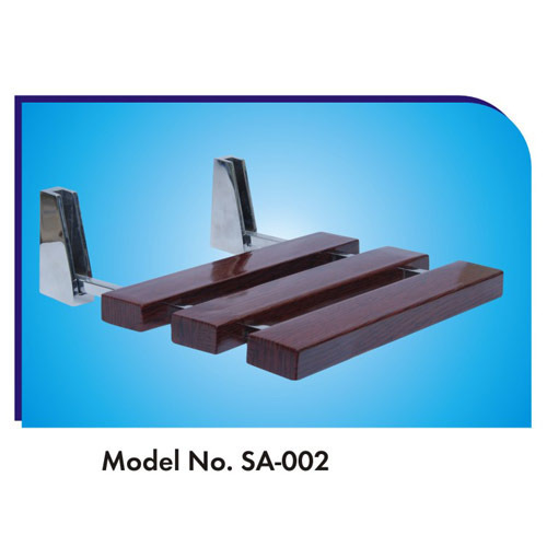 Wood SRE Shower Seat, Dimension/Size: 304x304x30mm