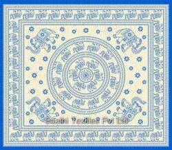 Indian Mandala Pattern Wall Hanging Bed Tapestry
