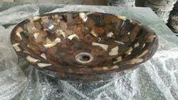 Resin Stone Bot Basins