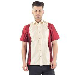 Slim Fit Mens Silk Shirt