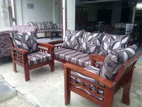 Wooden Sofa Set व डन स फ स ट Oak Wood Interior Pune