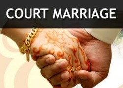Court Marriage Certificate, Registration