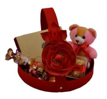 Red gift hamper with flower at rs 800 pack gift hamper id red gift hamper with flower negle Gallery