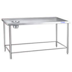 SS Dish Landing Table