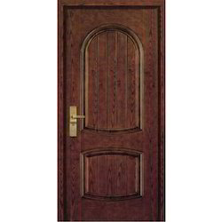 Standard Brown Designer Steel Interior Door, Thickness: 70mm, Size/Dimension: 2100x960