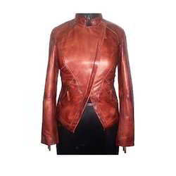 Lamb Satin Leather Jacket