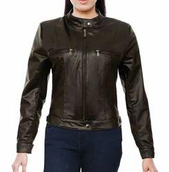 Girl  PU Jacket